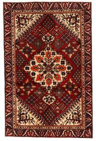 Bakhtiar Vloerkleed 125X195 Echt Oosters Handgeknoopt Donkerbruin/Donkerrood (Wol, Perzië/Iran)