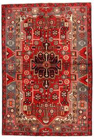Koliai Vloerkleed 130X193 Echt Oosters Handgeknoopt Donkerrood/Roestkleur (Wol, Perzië/Iran)