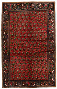 Koliai Vloerkleed 142X224 Echt Oosters Handgeknoopt Donkerbruin/Donkerrood (Wol, Perzië/Iran)