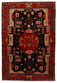 Koliai Vloerkleed 147X218 Echt Oosters Handgeknoopt Donkerbruin/Donkerrood (Wol, Perzië/Iran)