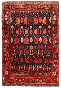 Koliai Vloerkleed 134X198 Echt Oosters Handgeknoopt Donkerrood/Zwart (Wol, Perzië/Iran)