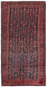 Kurdi Vloerkleed 147X275 Echt Oosters Handgeknoopt Donkerrood/Donkerblauw (Wol, Perzië/Iran)