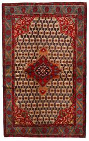Koliai Vloerkleed 137X222 Echt Oosters Handgeknoopt Donkerrood/Roestkleur (Wol, Perzië/Iran)