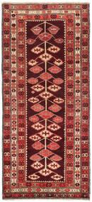 Kelim Karabach Vloerkleed 132X303 Echt Oosters Handgeweven Tapijtloper Donkerrood/Roestkleur (Wol, Azerbeidzjan/Rusland)
