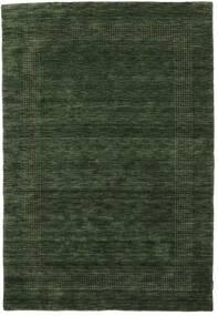 Handloom Gabba - Bosgroen Vloerkleed 160X230 Modern Donkergroen (Wol, India)