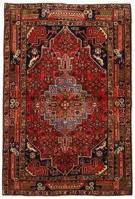 Koliai Vloerkleed 104X155 Echt Oosters Handgeknoopt Donkerbruin/Roestkleur (Wol, Perzië/Iran)