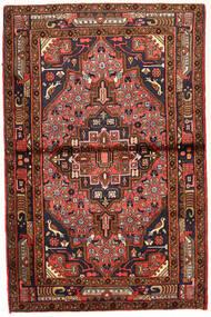 Koliai Vloerkleed 98X150 Echt Oosters Handgeknoopt Donkerrood/Donkerbruin (Wol, Perzië/Iran)