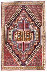 Koliai Vloerkleed 101X160 Echt Oosters Handgeknoopt Beige/Donkerrood (Wol, Perzië/Iran)