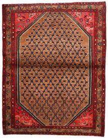 Koliai Vloerkleed 122X157 Echt Oosters Handgeknoopt Roestkleur/Zwart (Wol, Perzië/Iran)