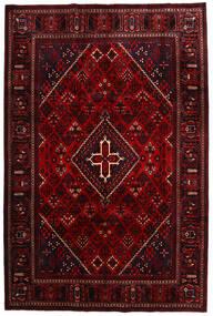 Meimeh Vloerkleed 218X329 Echt Oosters Handgeknoopt Donkerrood (Wol, Perzië/Iran)