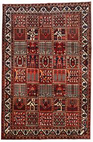 Bakhtiar Vloerkleed 207X315 Echt Oosters Handgeknoopt Donkerrood/Zwart (Wol, Perzië/Iran)