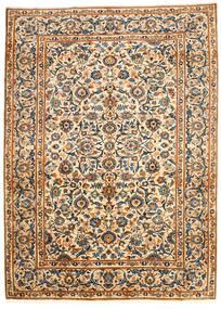 Najafabad Vloerkleed 203X278 Echt Oosters Handgeknoopt Beige/Zwart (Wol, Perzië/Iran)