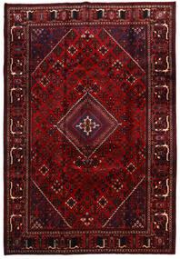 Meimeh Vloerkleed 220X323 Echt Oosters Handgeknoopt Donkerrood (Wol, Perzië/Iran)