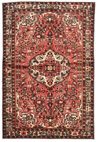 Bakhtiar Vloerkleed 143X217 Echt Oosters Handgeknoopt Donkerrood/Beige (Wol, Perzië/Iran)