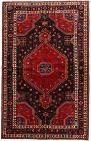 Toiserkan Vloerkleed 141X225 Echt Oosters Handgeknoopt Donkerrood (Wol, Perzië/Iran)