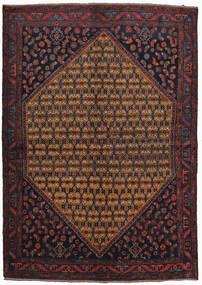 Koliai Vloerkleed 160X225 Echt Oosters Handgeknoopt Donkerrood/Bruin (Wol, Perzië/Iran)