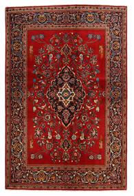 Keshan Vloerkleed 138X210 Echt Oosters Handgeknoopt Roestkleur/Donkerbruin (Wol, Perzië/Iran)