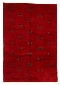 Huttan Vloerkleed 125X183 Echt Oosters Handgeknoopt Donkerrood (Wol, Pakistan)
