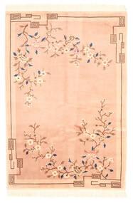China Antiekfinish Vloerkleed 122X183 Echt Oosters Handgeknoopt Donkerbeige/Beige (Wol, China)