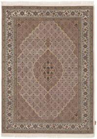 Tabriz Royal Vloerkleed 168X232 Echt Oosters Handgeknoopt Donkerbruin/Bruin ( India)