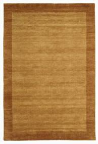 Handloom Frame - Goud Vloerkleed 200X300 Modern Bruin/Lichtbruin (Wol, India)
