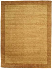 Handloom Frame - Goud Vloerkleed 300X400 Modern Lichtbruin/Bruin Groot (Wol, India)