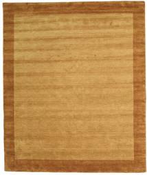 Handloom Frame - Goud Vloerkleed 250X300 Modern Lichtbruin/Bruin Groot (Wol, India)