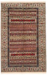 Turkaman Vloerkleed 162X246 Echt Oosters Handgeknoopt Donkerbruin/Lichtbruin (Wol, Perzië/Iran)