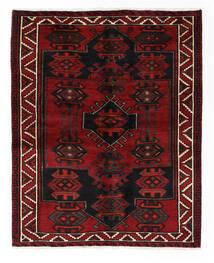 Lori Vloerkleed 160X198 Echt Oosters Handgeknoopt Zwart/Wit/Creme (Wol, Perzië/Iran)