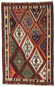 Kelim Vintage Vloerkleed 173X283 Echt Oosters Handgeweven Donkerrood/Zwart (Wol, Perzië/Iran)
