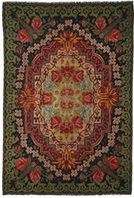 Rozenkelim Moldavia Vloerkleed 219X322 Echt Oosters Handgeweven Zwart/Donkerbruin (Wol, Moldavië)