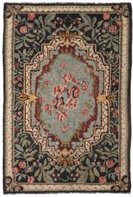Rozenkelim Moldavia Vloerkleed 192X286 Echt Oosters Handgeweven Zwart/Donkergrijs (Wol, Moldavië)