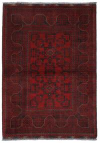 Afghan Khal Mohammadi Vloerkleed 108X151 Echt Oosters Handgeknoopt Donkerrood/Donkerbruin (Wol, Afghanistan)