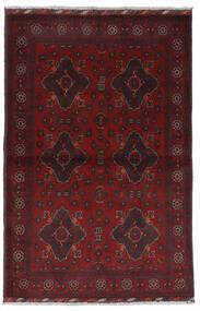 Afghan Khal Mohammadi Vloerkleed 100X154 Echt Oosters Handgeknoopt Donkerrood/Donkerbruin (Wol, Afghanistan)
