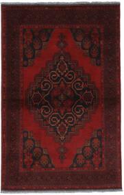 Afghan Khal Mohammadi Vloerkleed 97X151 Echt Oosters Handgeknoopt Donkerrood (Wol, Afghanistan)