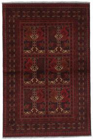 Afghan Khal Mohammadi Vloerkleed 98X147 Echt Oosters Handgeknoopt Donkerrood (Wol, Afghanistan)