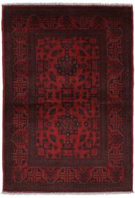 Afghan Khal Mohammadi Vloerkleed 100X147 Echt Oosters Handgeknoopt Donkerrood (Wol, Afghanistan)