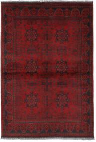 Afghan Khal Mohammadi Vloerkleed 104X152 Echt Oosters Handgeknoopt Donkerrood/Donkerbruin (Wol, Afghanistan)