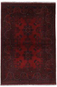 Afghan Khal Mohammadi Vloerkleed 100X146 Echt Oosters Handgeknoopt Donkerrood (Wol, Afghanistan)