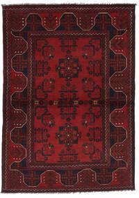 Afghan Khal Mohammadi Vloerkleed 102X148 Echt Oosters Handgeknoopt Donkerrood/Donkerbruin (Wol, Afghanistan)