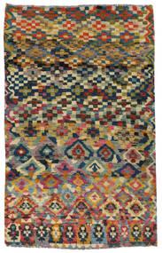 Moroccan Berber - Afghanistan Vloerkleed 117X182 Echt Modern Handgeknoopt Donkergrijs/Lichtgrijs (Wol, Afghanistan)