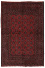 Afghan Vloerkleed 157X235 Echt Oosters Handgeknoopt Zwart (Wol, Afghanistan)