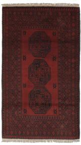 Afghan Vloerkleed 100X174 Echt Oosters Handgeknoopt Zwart (Wol, Afghanistan)