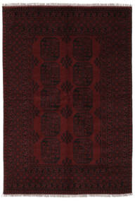 Afghan Vloerkleed 162X231 Echt Oosters Handgeknoopt Zwart (Wol, Afghanistan)