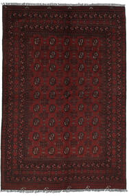Afghan Vloerkleed 161X237 Echt Oosters Handgeknoopt Zwart (Wol, Afghanistan)