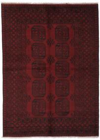 Afghan Vloerkleed 162X226 Echt Oosters Handgeknoopt Zwart (Wol, Afghanistan)