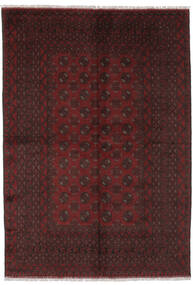 Afghan Vloerkleed 164X239 Echt Oosters Handgeknoopt Zwart (Wol, Afghanistan)