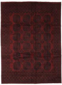 Afghan Vloerkleed 252X333 Echt Oosters Handgeknoopt Zwart Groot (Wol, Afghanistan)