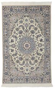 Nain 9La Vloerkleed 100X160 Echt Oosters Handgeknoopt Donkergrijs/Zwart (Wol/Zijde, Perzië/Iran)