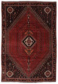Shiraz Vloerkleed 206X298 Echt Oosters Handgeknoopt Zwart (Wol, Perzië/Iran)